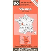 Carte routière : Vienne