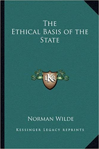 The Ethical Basis of the State