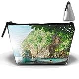 WQWSVX Thai Scenery Fashion Travel Bag Trapezoid