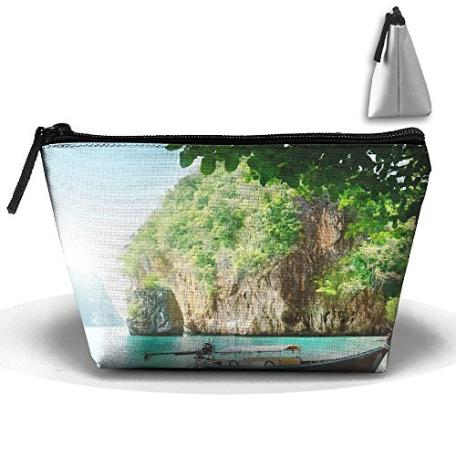 WQWSVX Thai Scenery Fashion Travel Bag Trapezoid by WQWSVX