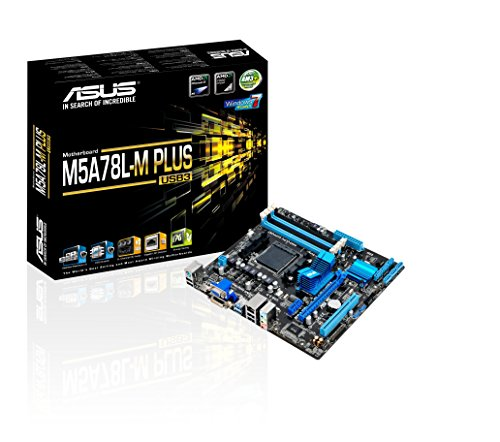 ASUS M5A78L-M Plus/USB3 DDR3 HDMI DVI USB 3.0 760G MicroATX Motherboard (Best Motherboard For Amd Fx 9590)