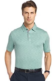 eac3e6f8 Van Heusen Men's Classic Fit Natural Stretch Easy Care Short Sleeve ...