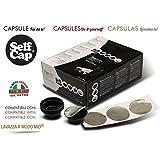 300 CAPSULE CARICABILI SELF CAP LAVAZZA A MODO MIO