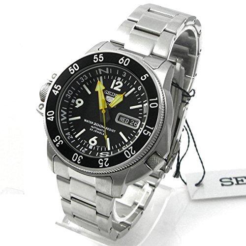 Seiko De los hombres skz211 K1 cinco Sports acero inoxidable reloj automático por Seiko relojes
