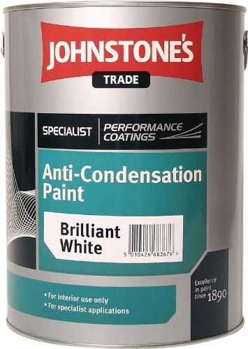 5LTR - JOHNSTONE'S ANTI CONDENSATION PAINT BRILLIANT WHITE Johnstone' s