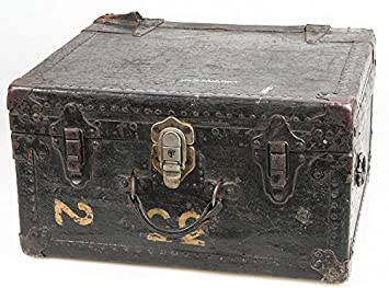 STEAMPUNK TRUNK STORAGE COFFEE TABLE DISPLAY CAMERA CASE