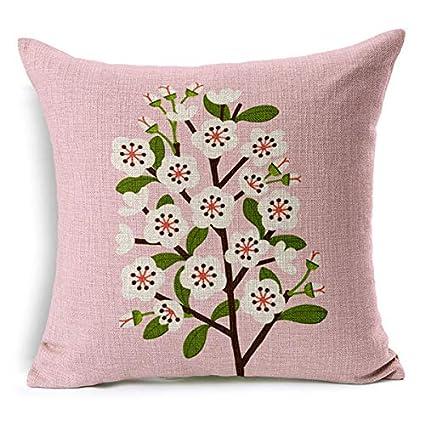 Amazon.com: New Modern Home Decorative Throw Pillowcase ...