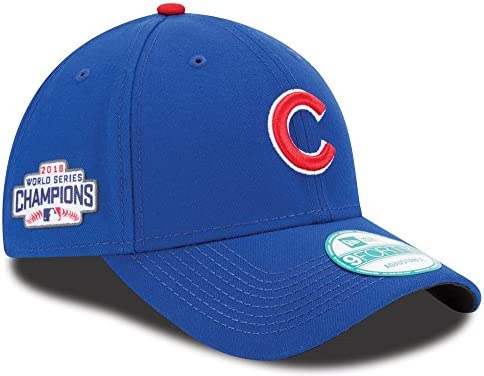 3ba82759a78c2 Chicago Cubs New Era MLB 9Forty 2016 World Series Champions Adjustable Hat   Amazon.co.uk  Sports   Outdoors