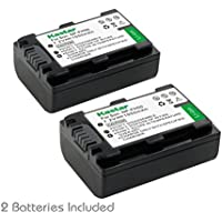 Kastar Battery (2-Pack) for Sony NP-FH50, NP-FH40, NP-FH30 & Sony DSLR-A230, DSLR-A330, DSLR-A290, DSLR-A380, DSLR-A390, HDR-TG1E, HDR-TG3, HDR-TG5, HDR-TG5V, HDR-TG7, DSC-HX1, DSC-HX200, DSC-HX100V