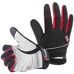 Zookki Work Gloves,Full finger-Black,M(6.7inches-7.9inches)