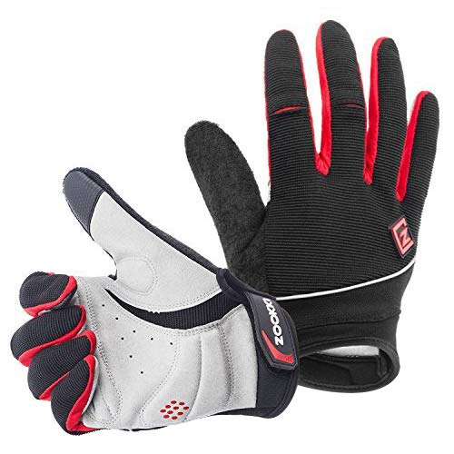 ull finger-Black,M(6.7inches-7.9inches) ()