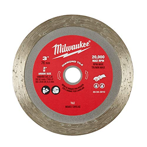 Milwaukee 49-94-3010 3 Inch Diamond Tile Blade ()