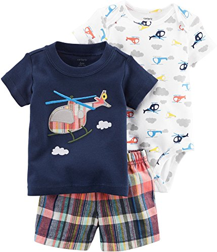 - Carter's Baby Boys' 3 Piece Little Short Set 9 Months