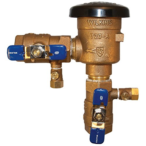 Irrigation Anti Siphon Valve - Zurn 34-720A Wilkins Pressure Vacuum Breaker 3/4-Inch Assembly