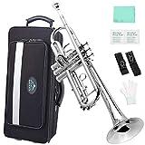 EastRock Trumpet Brass Standard Bb Trumpet