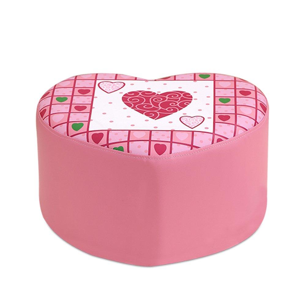Disfruta de un 50% de descuento. Muebles Modernos CAICOLORFUL Los niños Son Son Son Lindos Cambio de heces de Zapatos Pink Princess Taburete Sofá pequeño sofá sofá pequeño Taburete de sofá de Amor de Dibujos Animados  gran descuento