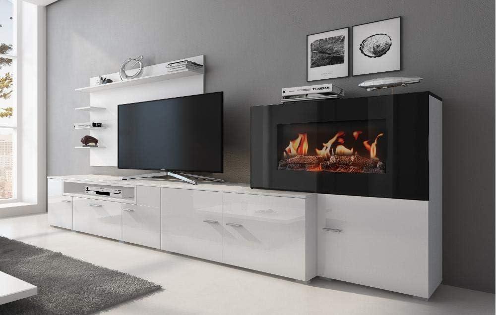 Home Innovation Wohnmobel Mit Elektrischem Kamin Mit 5