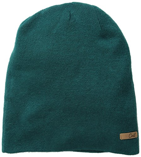 Coal Women's The Julietta Soft Fine-Knit Slouchy Beanie, Evergreen, One Size