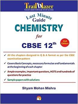 Last Minute Guide Chemistry For CBSE XII price comparison at Flipkart, Amazon, Crossword, Uread, Bookadda, Landmark, Homeshop18
