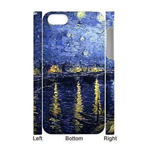 ALICASE Diy 3D Protection Hard Case Van Gogh For Iphone 5C [Pattern-1]