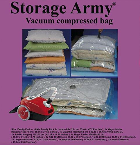Storage Gigantic Compressed Organizer Army