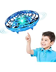 DMG Drone Flying Toys Manual Drone Flying Ball Toys, Suitable for 4, 5, 6, 7, 8, 9 Years Old and 10 Years Old Boys, Simple Indoor Small Ufo Flying Ball Toy for Boys and Girls