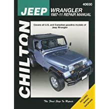 Chilton's Jeep Wrangler 1987-11 Repair Manual