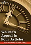 Walker's Appeal in Four Articles, David Walker, 1605208043