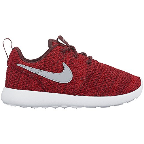 Nike Boy's Roshe One Sneaker (PS), Dark Team Red/Wolf Grey-University Red 12C