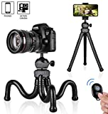 Best Flexible Tripod For Cell Phones - Phone Tripod, Flexible Cell Phone Tripod Adjustable 360° Review