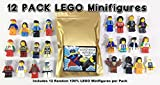 12 Random Lego Minifigures - Brand New - Excellent Assortment of Mini Figs w/all Body Parts; Hat, Hair or Helmet. New Lego Product