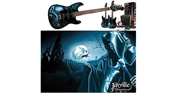 Pack de guitarra electrica Jaxville ST1HDPK: Amazon.es: Instrumentos musicales