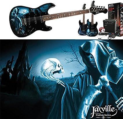 Pack de guitarra electrica Jaxville ST1HDPK