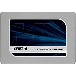 """Crucial MX200 SSD interno, 500 GB, 2.5"""" SATA 7 mm (con adattatore 9,5 mm)"""