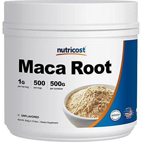 Nutricost Pure Racine De Maca En Poudre (500 Grammes)