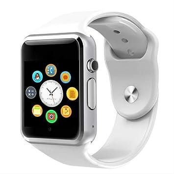 AASSXX Reloj inteligenteNuevo Smart Watch Clock Sync Notifier ...