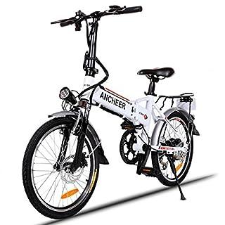 Best Electric Bike Under $1000 ANCHEER Folding Electric Bike