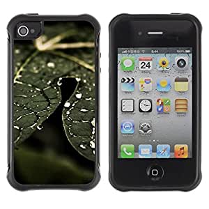 "Hypernova Defender Series TPU protection Cas Case Coque pour Apple iPhone 4 / iPhone 4S [Planta Naturaleza Forrest Flor 74""]"
