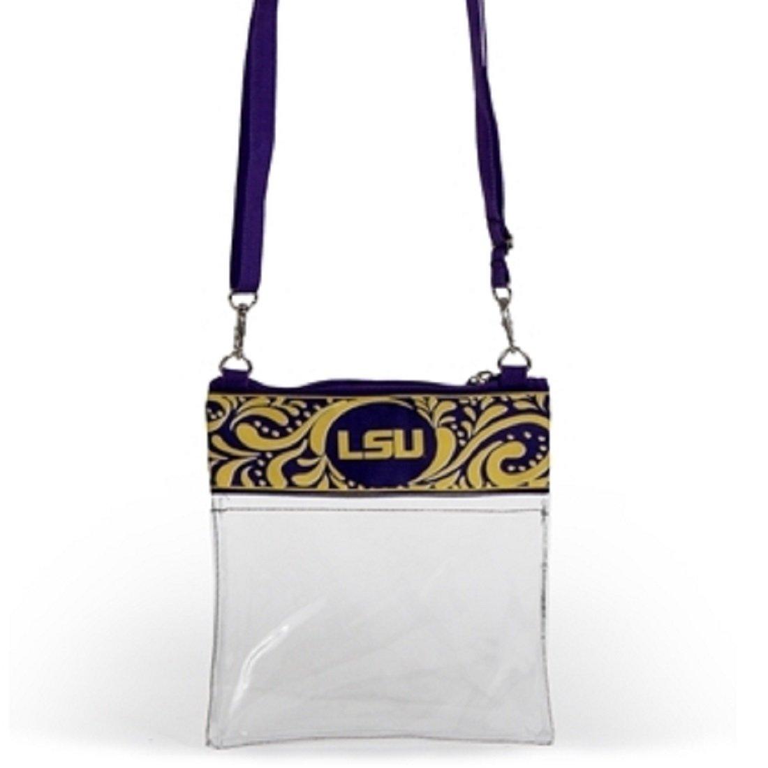 Desden LSU Clear Gameday Crossbody Bag