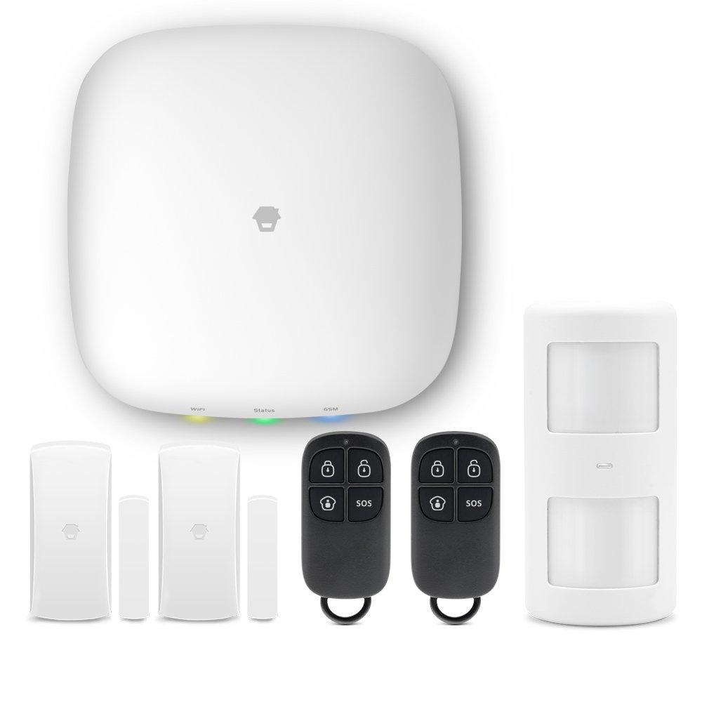 Chuango H4 Plus: Sistema de Alarma para hogar y Oficina - Smart Home - Panel con módulo WiFi y gsm - Envío de notificaciones Push y Llamada: Amazon.es: ...