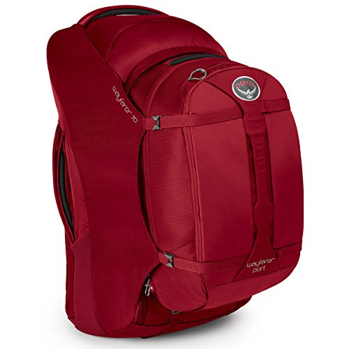 Osprey Wayfarer Travel Pack Garnet Red 70-Liter