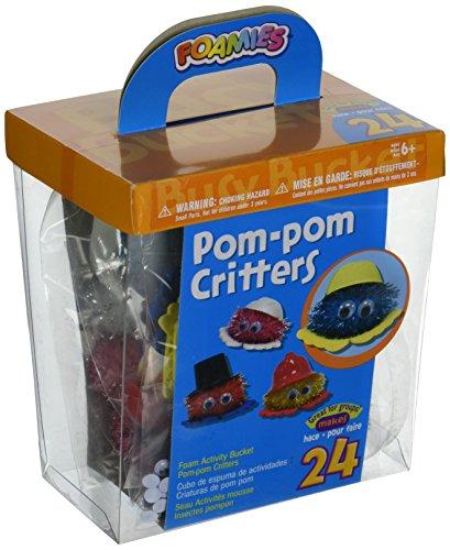 Darice Foam Kit, Pom-Pom Critters