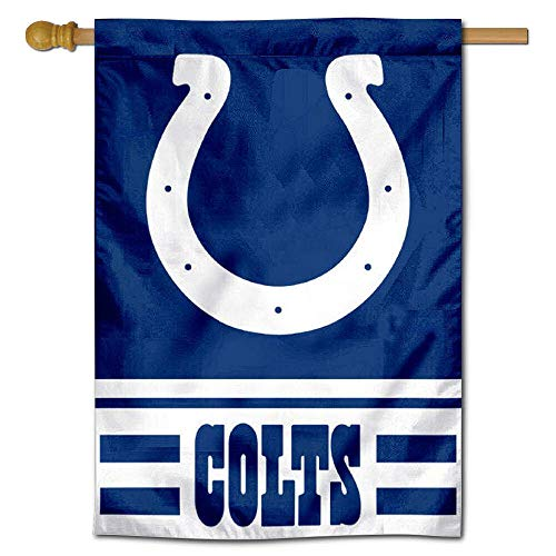 WinCraft Indianapolis Colts Two Sided House Flag ()