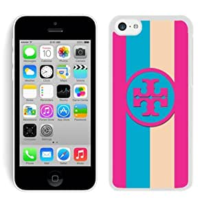 Fahionable Custom Designed iPhone 5C Cover Case With Tory Burch 62 White Phone Case
