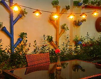 online store c3c97 764b2 Outdoor Garden String Lights, 8.2ft G40+ OxyLED Garden Patio Outside String  Lights,Waterproof Indoor/Outdoor String Lights, Great Garden Terrace Patio  ...