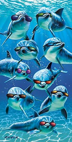 Mod Squad Cool Sunglasses Dolphins Porpoise Pool Bath Beach Souvenir - Regina Sunglasses