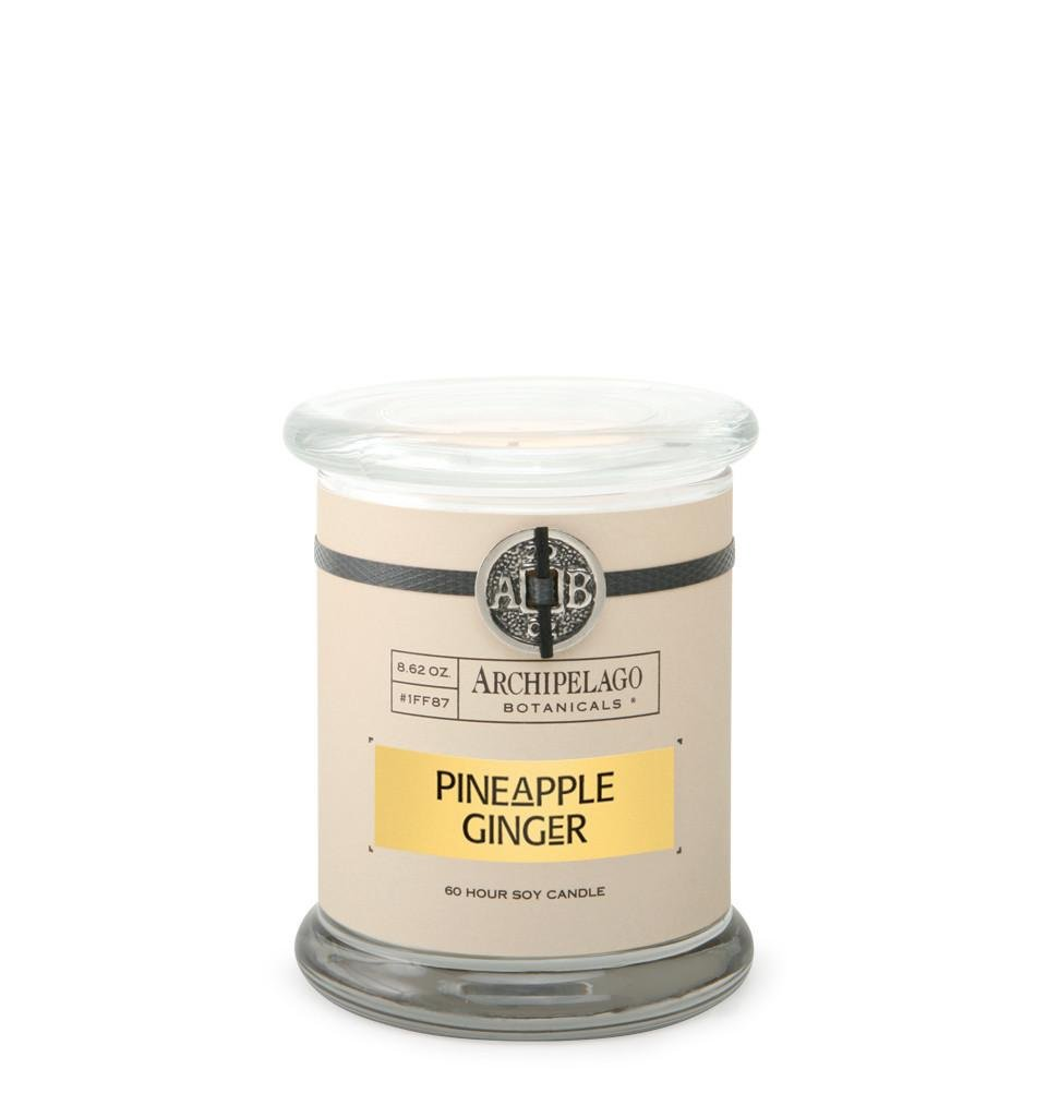 Archipelago Botanicals, Candle Jar Pineapple Ginger