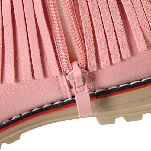 Eozy Babyschuhe Baby Mädchen Winterschuhe Warm Gefüttert Schneestiefel Schuhe Pink