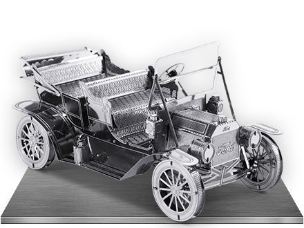 Fascinations Metal Earth 1908 Ford Model T 3D Metal Model Kit (Was The Model T The First Car)