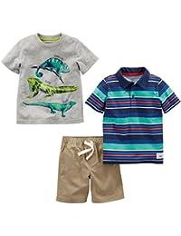 Boys' Toddler 3-Piece Playwear Set